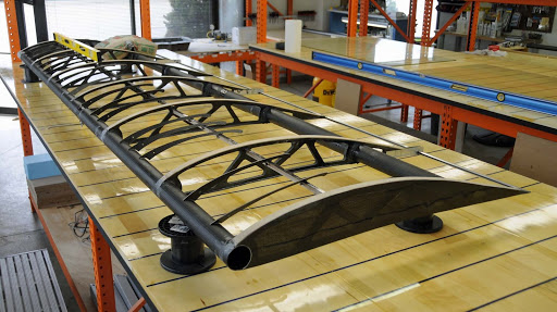 A picture of a wing for the upcoming Belite Aircraft | Chipper