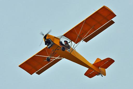 Beautiful Cub Yellow Ultralight Aircraft | Chipper