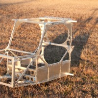 Belite Aluminum Ultralight Aircraft Cabin Construction, #1
