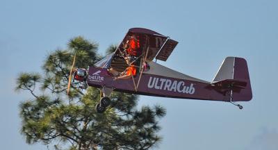 Ultralight airplane.
