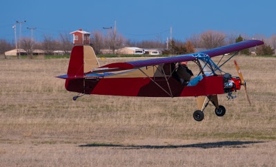 ultralight aircraft landing