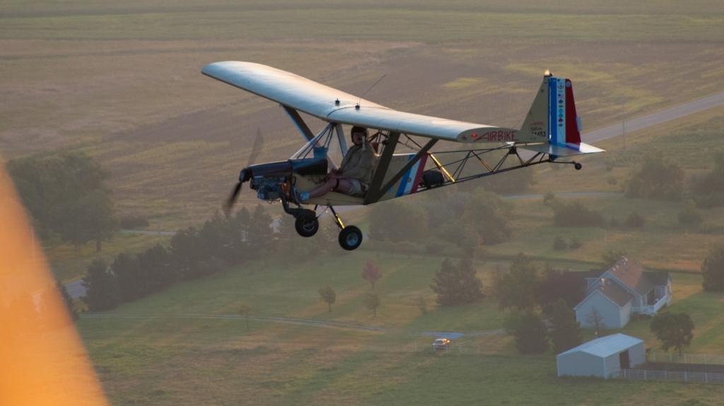 AirBike with Pilot Paul Fiebich