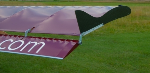 Winglet on Belite ultralight airplane.