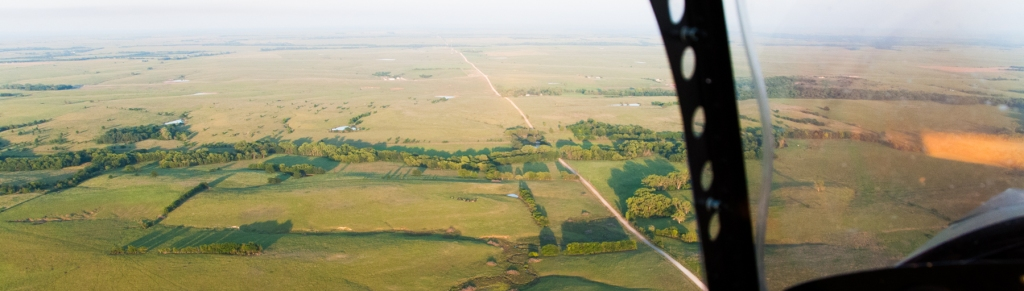Evening Flight Flint Hills 4
