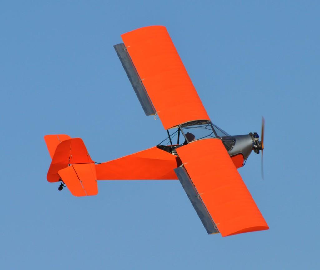 Belite Ultralight Aircraft in Flight.