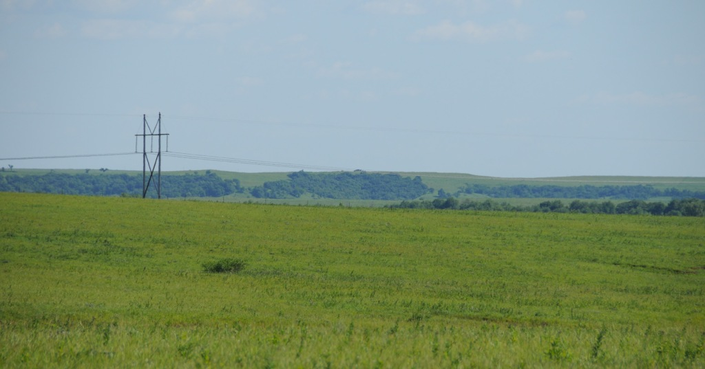 Flint Hills Ridgeline in distance