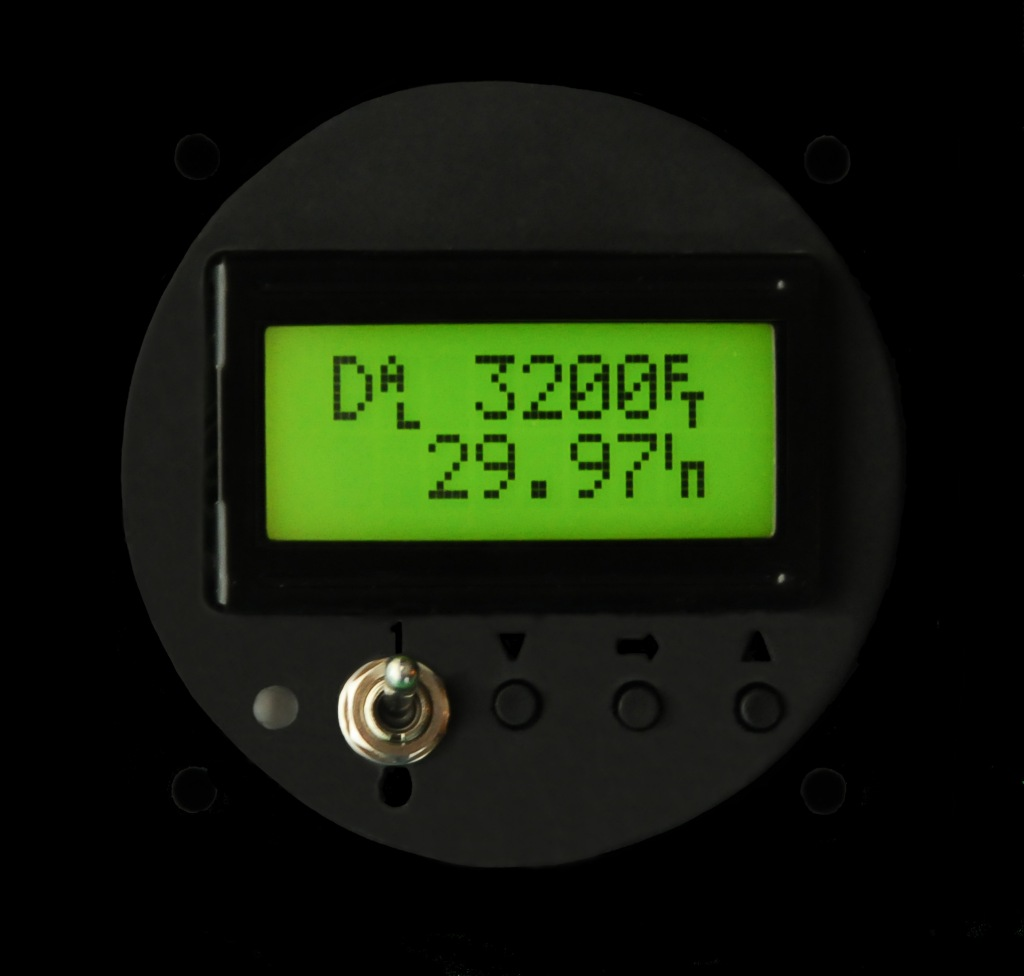 LCD Altimeter DA
