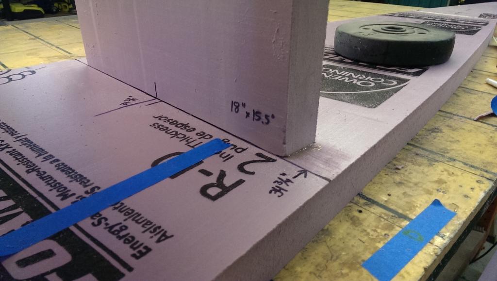 Glue bulkheads 5