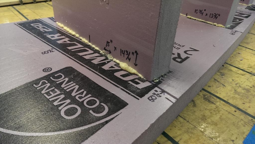 Glue bulkheads 7