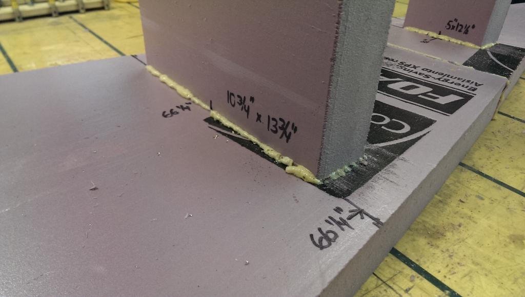 Glue bulkheads 8
