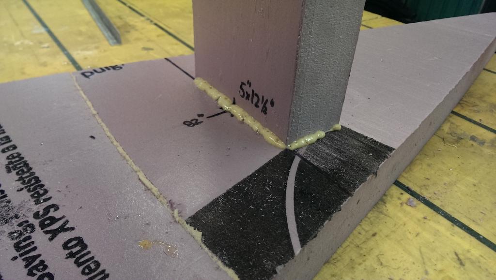 Glue bulkheads 9