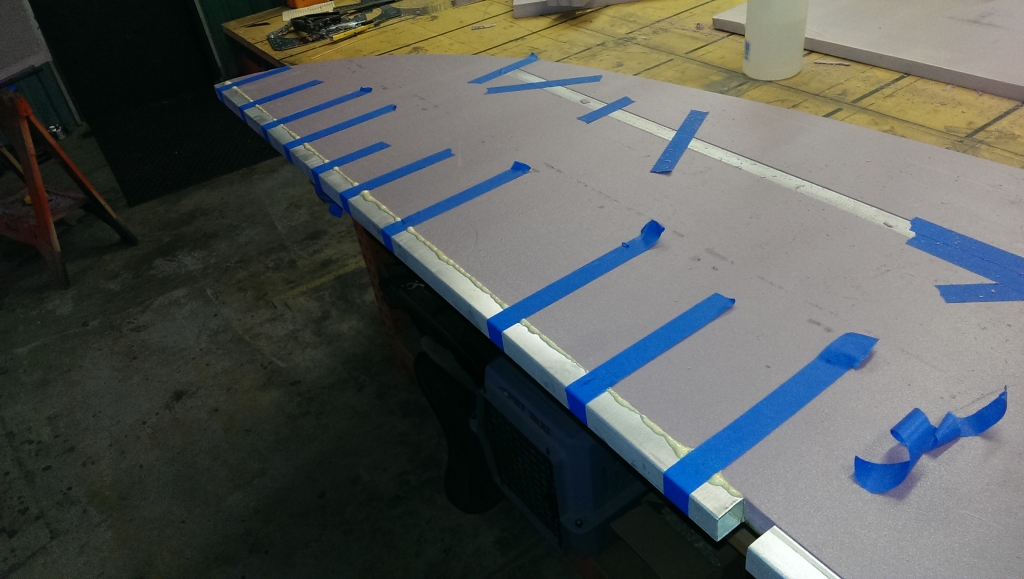 Horizontal Stabilizer Gluing