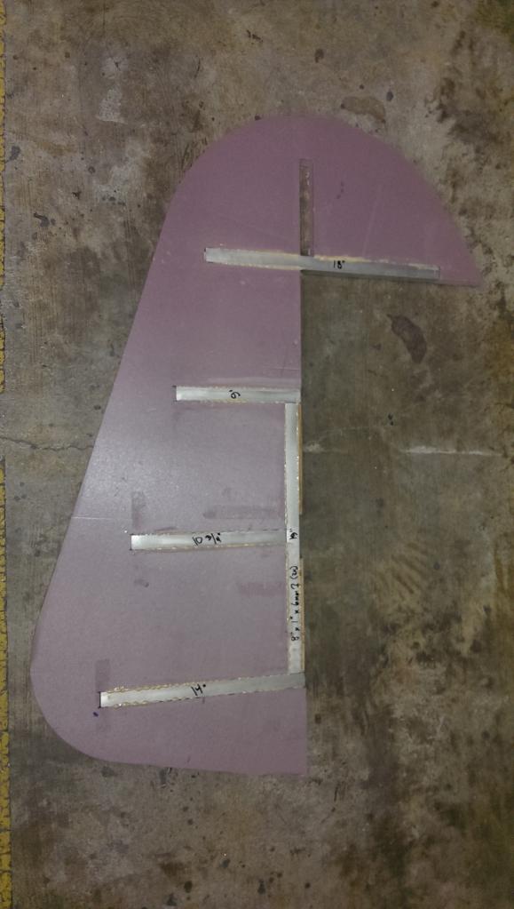 Rudder Gluing 2