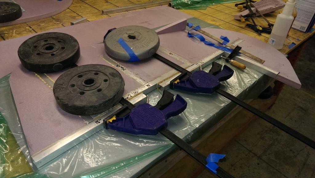 Rudder Gluing 3