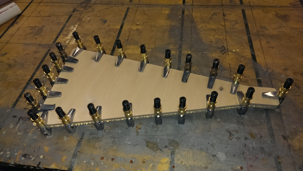 tailspring boards gluing