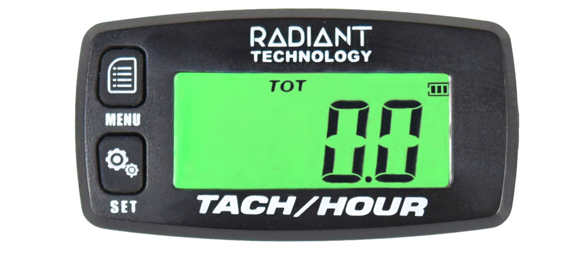 Radiant Tach Green Background